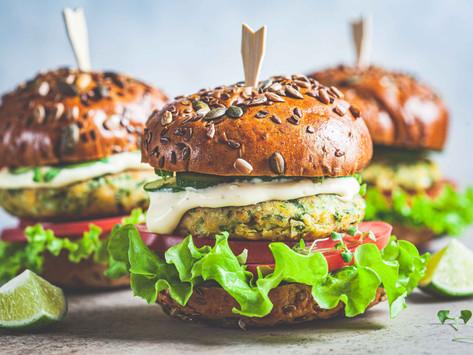 Фалафель бургеры (vegan)