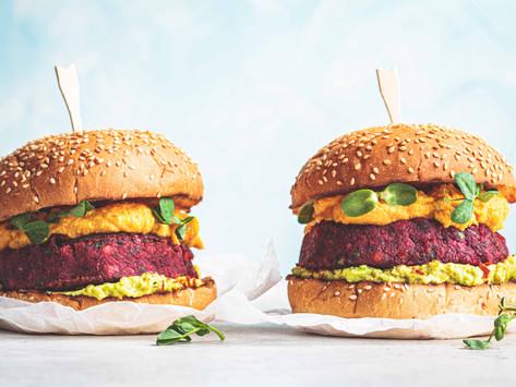 Свекольные котлетки для бургеров (vegan)