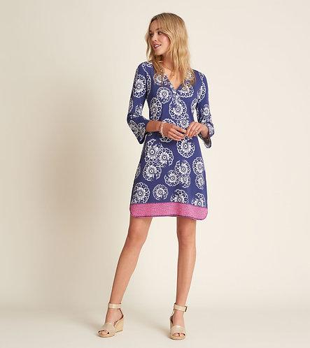 HATLEY Ashley Dress Tie Dye Mandala