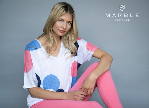 MARBLE 2 Piece Lightweight Top with Matching Vest