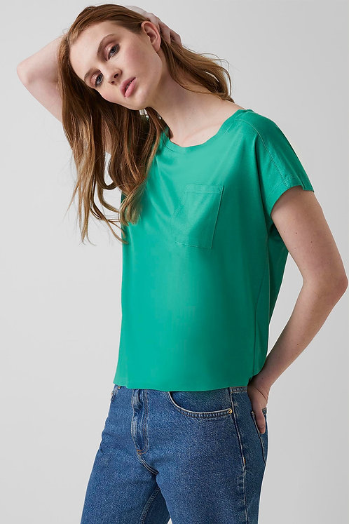 GREAT PLAINS Soft Touch Jersey Short Sleeve Round Neck Top