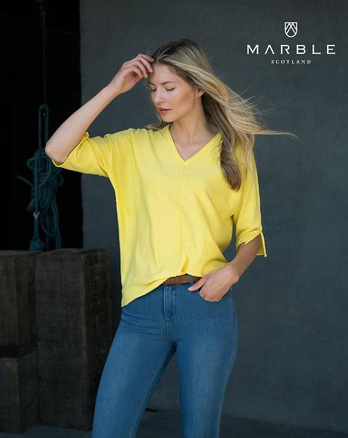 MARBLE V Neck Sweater