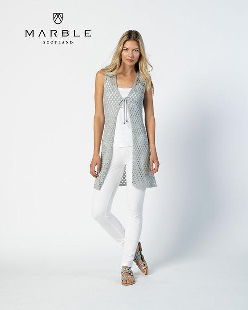 MARBLE Longline Knit Gillet