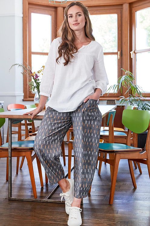 NOMADS Ikat Relaxed Crop Touser