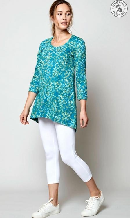 NOMADS Scoop Hem Organic Cotton Tunic