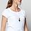 Thumbnail: NOMADS Scoop Hem Organic Cotton T Shirt