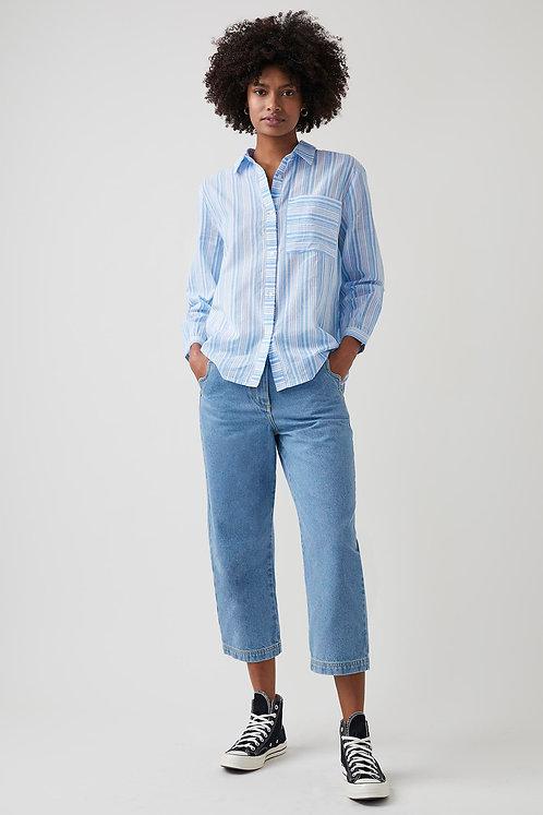 GREAT PLAINS Core Stripe Long Sleeve Shirt