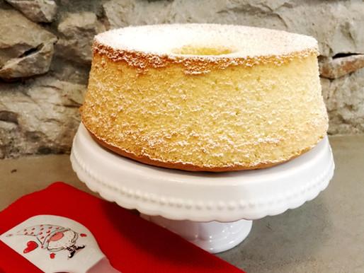 Chiffon cake al limone, un amore al primo assaggio