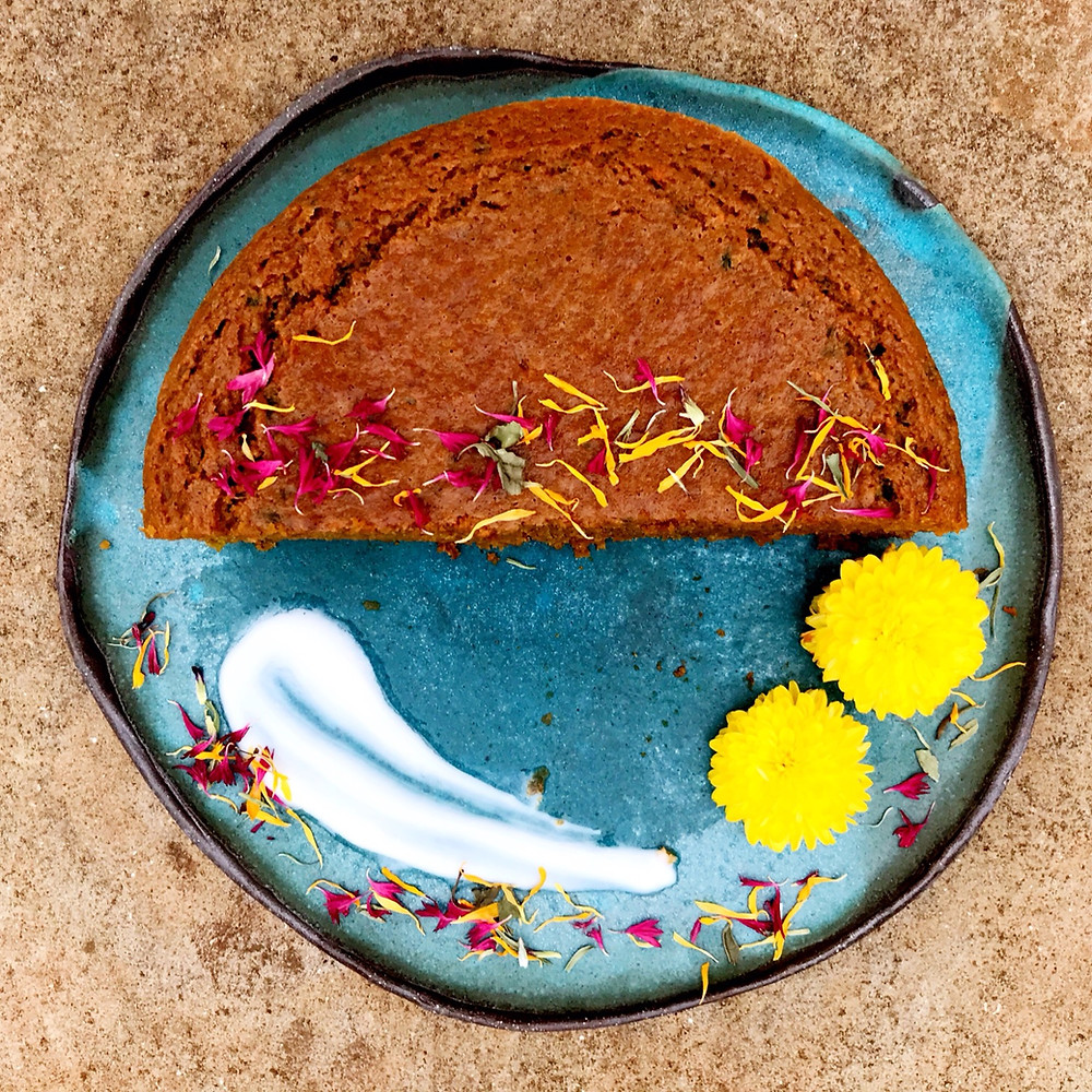 torta di carote light torte felici giorgia bacchia happiness in a cake