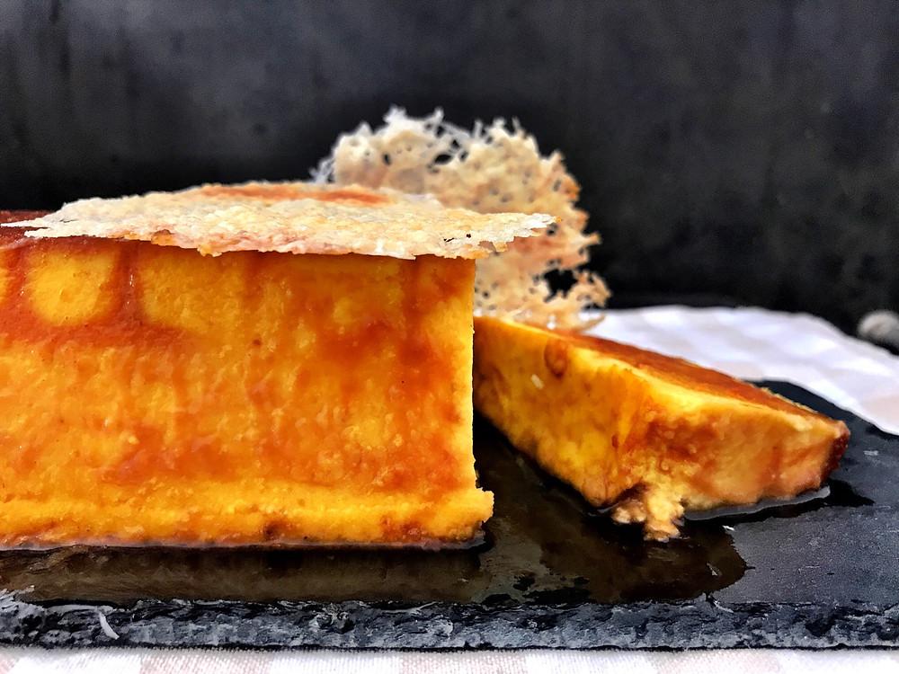 Crème carmel alla zucca e Grana Padano DOP tortefelici happinessinacake