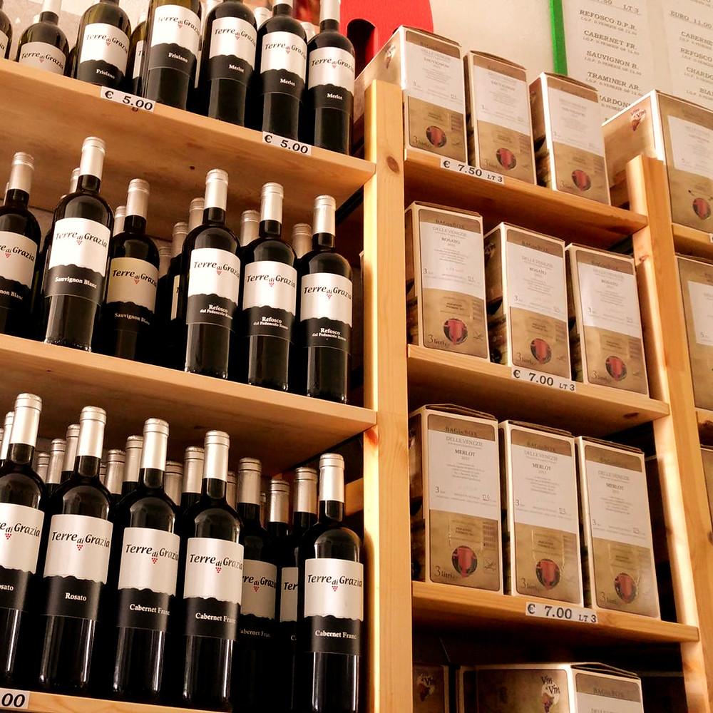 vini terre di grazia aziend agricola fossalon villa vicentina