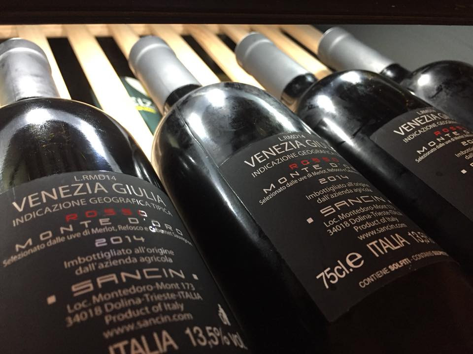 azienda agricola sancin olio evo vino consegna a domicilio trieste muggia aurisina