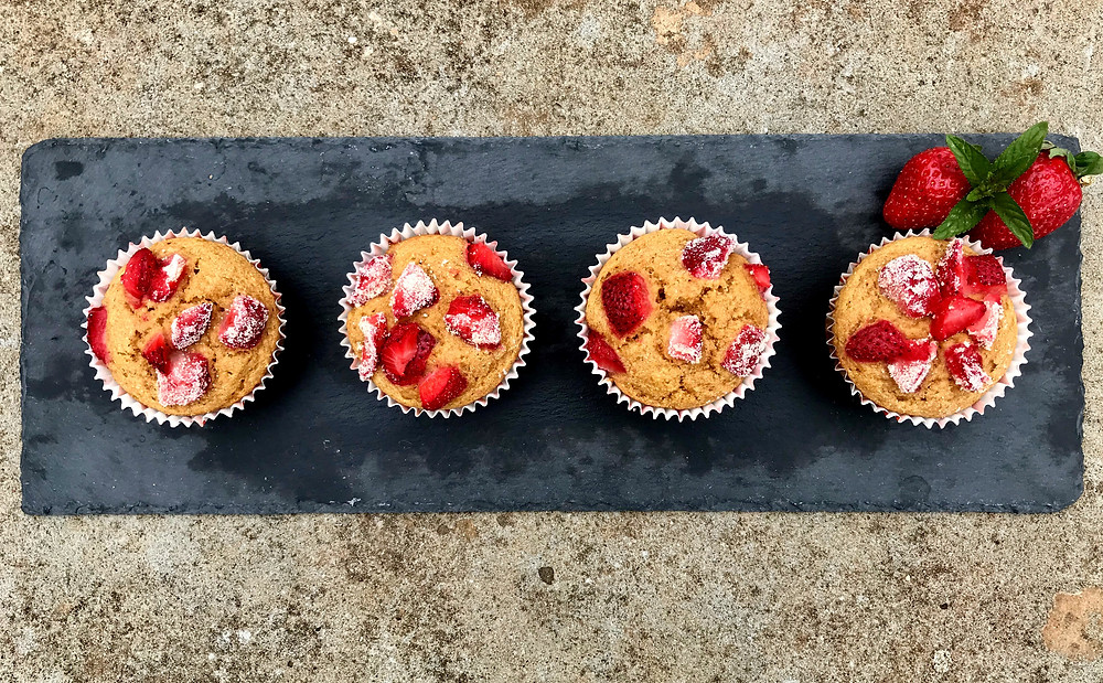 muffin light alle fragole tortefelici happinessinacake