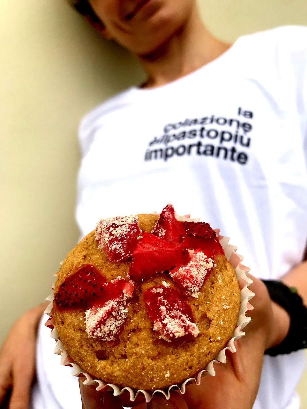 le magliette della salute tortefelici muffin light alle fragole happinessinacake