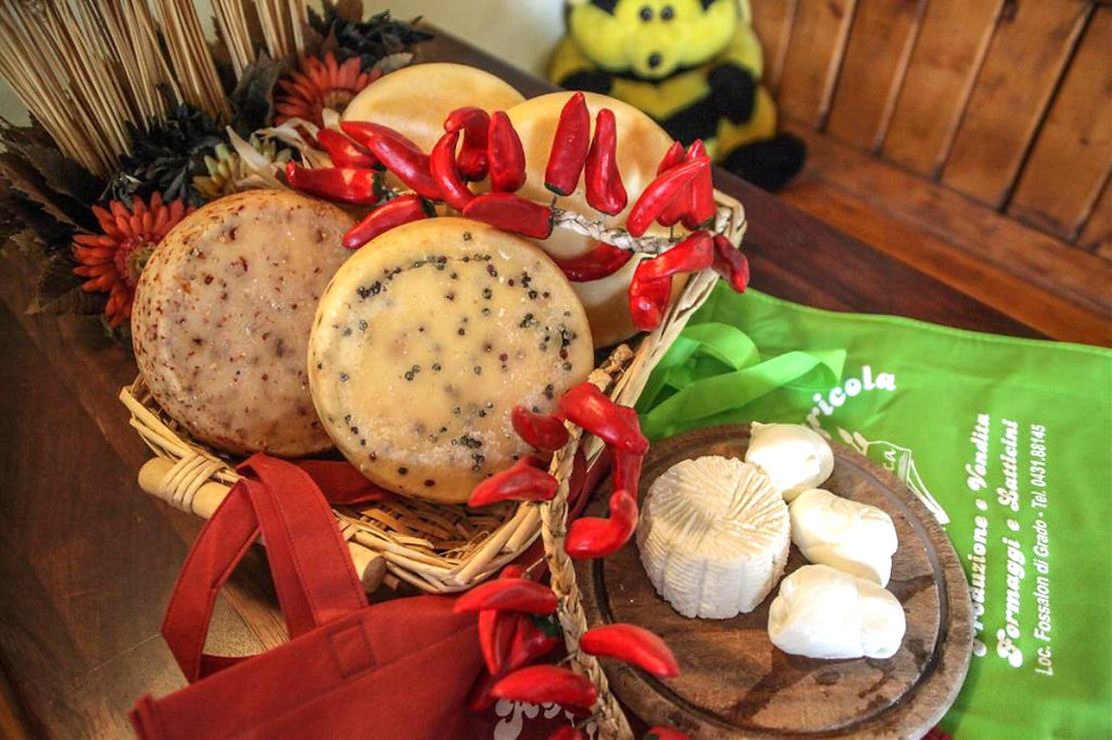 fromaggi freschi azienda la bonifica fossalon mozzarella