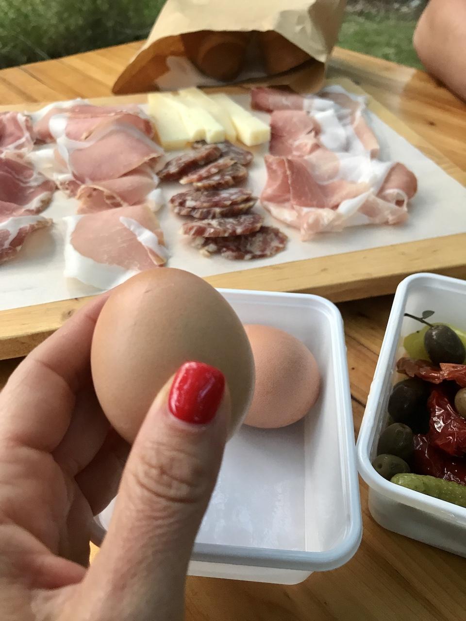 uova sode carso osmiza piatti freddi tradizione carso osmize