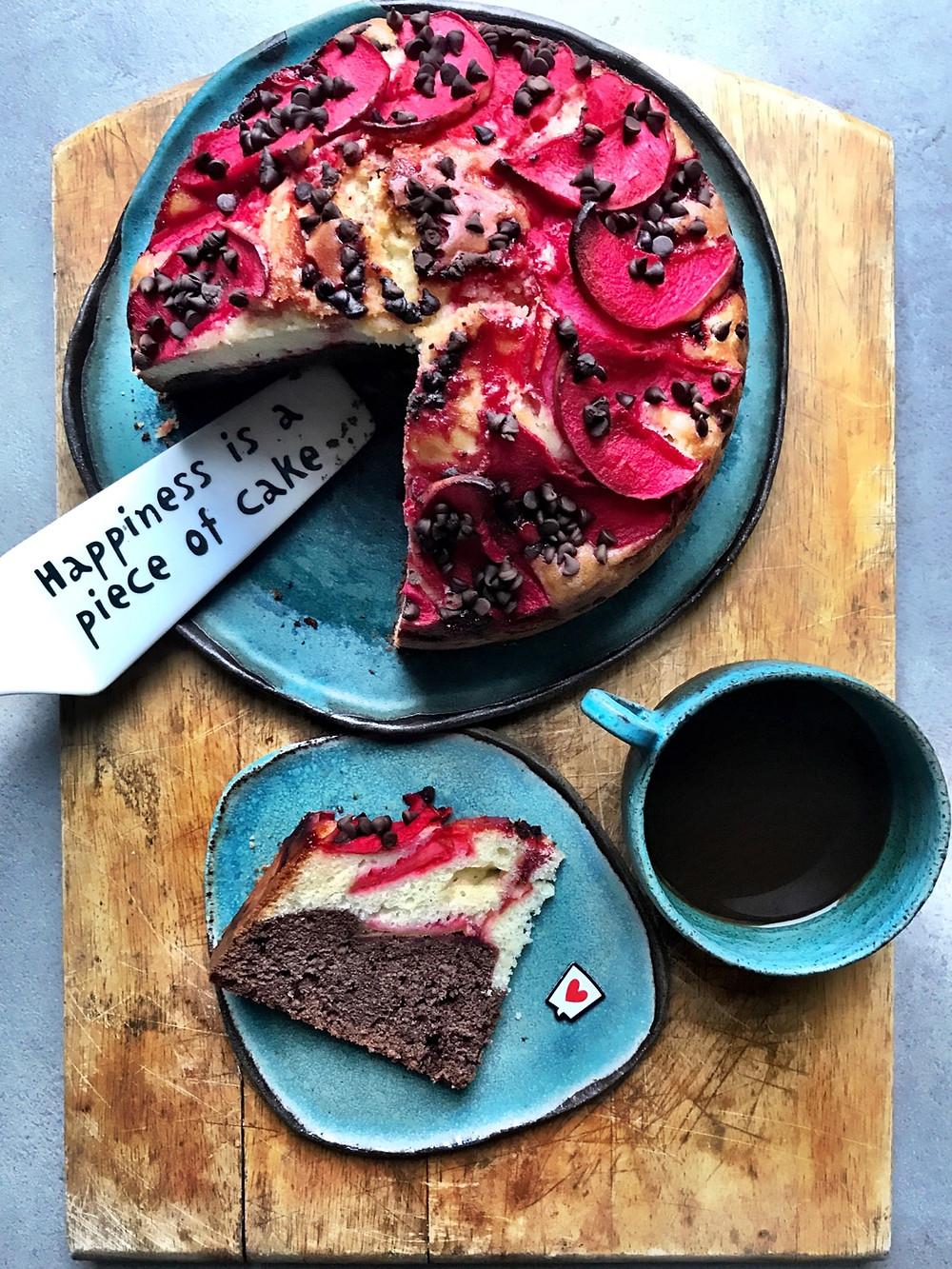 le ricette svelate torte felici mele cioccolato alchermes giorgia bacchia torta