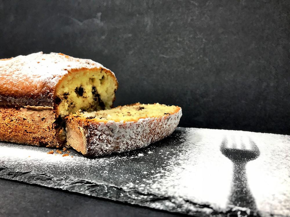 sophie dudemaine plumcake al cocco e gocce di cioccolato tortefelici happinessinacake