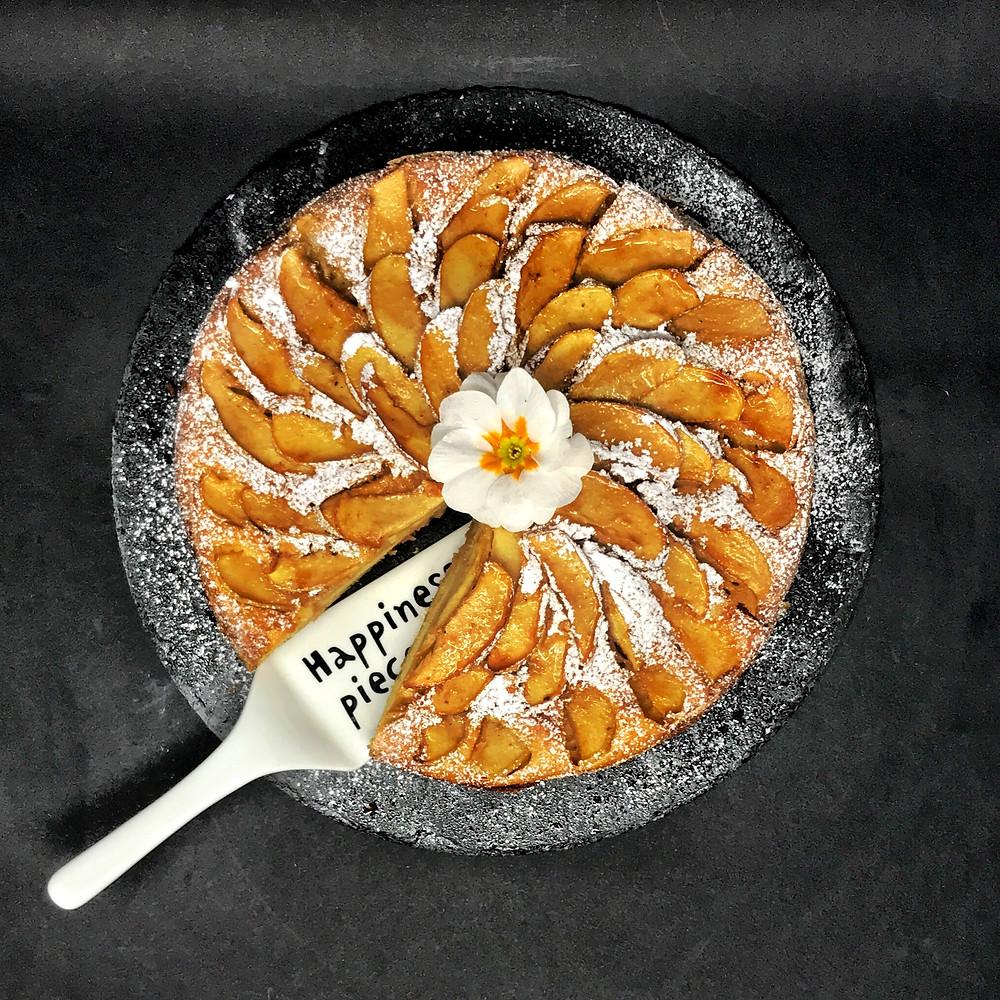 torta di mele tortefelici happinessinacake