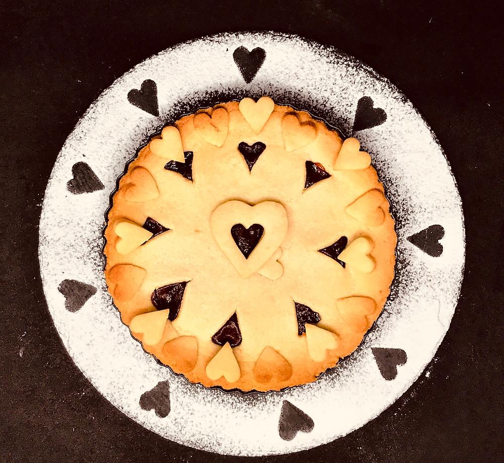 Crostata con marmellata di fragole tortefelici happinessinacake