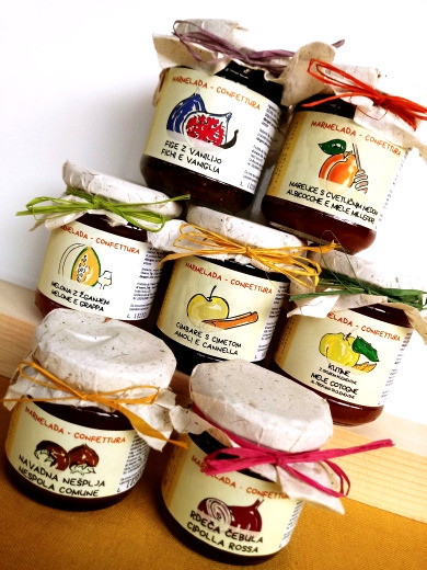 marmellate produzione locale il giardino di erika carso torte felici