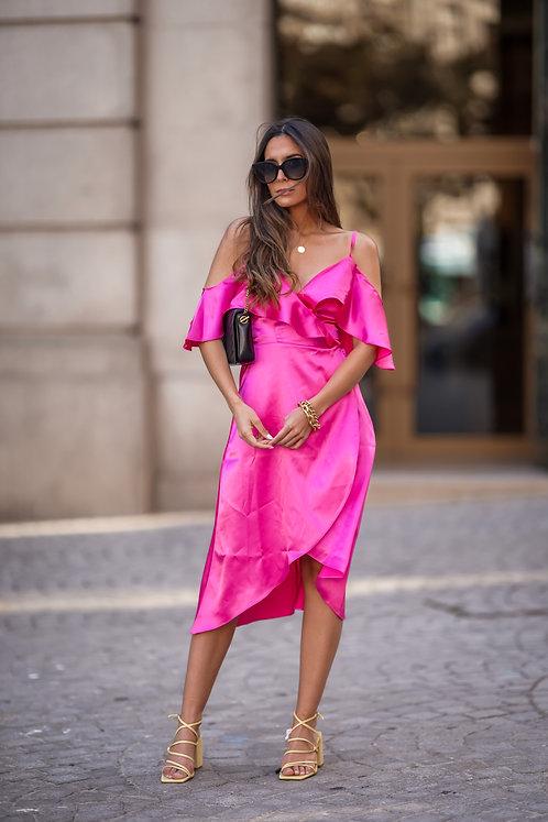 PINK MALFI DRESS