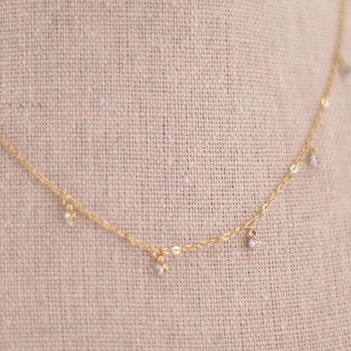 Colar Mini Diamantes