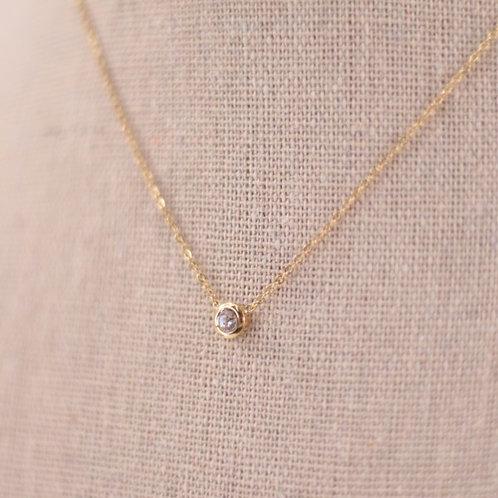 Colar Pedra Diamante