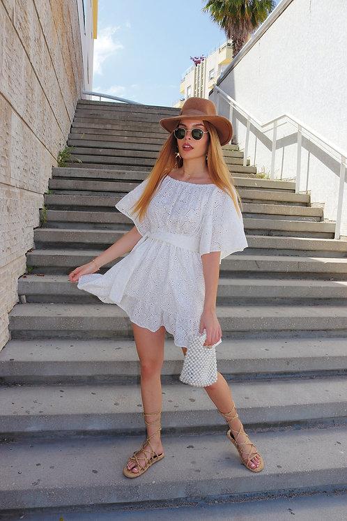 WHITE KIKA DRESS