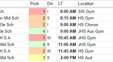 Pennsbury at States [Schedule]