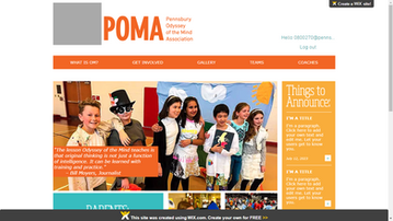 The New POMA Site