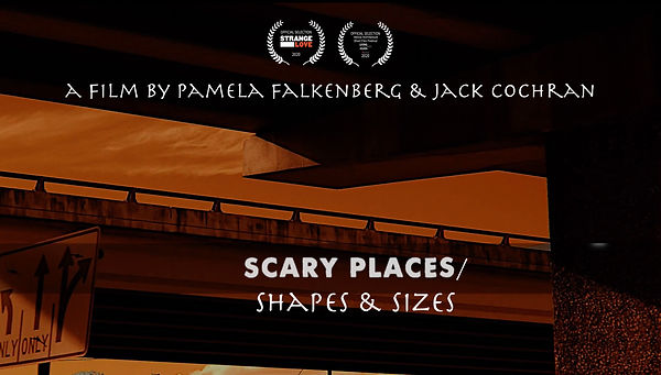 Scary Places_Shapes & Sizes poster w 2 l