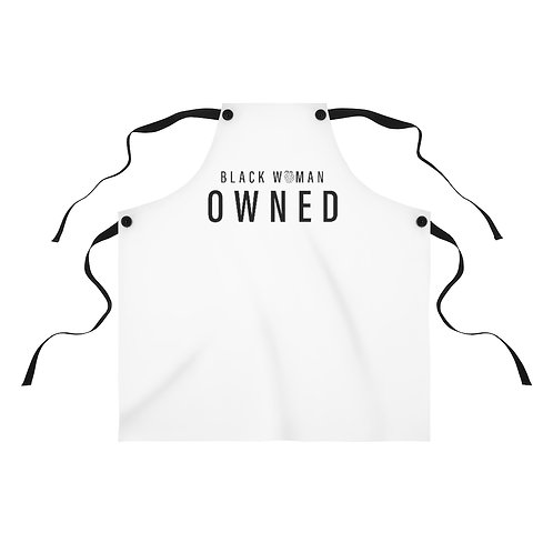 """""""Black Woman Owned"""" Apron"""