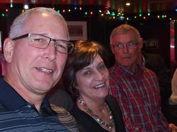 Les, Judy & John