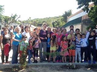 L'Atelier Bleu inaugure le jardin-potager de Bucelle