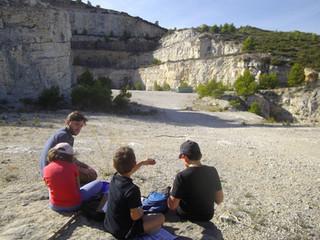Les Guides nature Juniors de Fardeloup testent le sac!