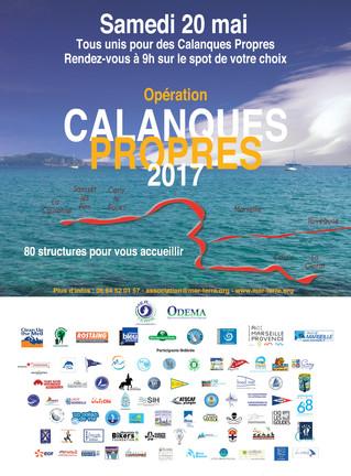 Opération Calanques Propres 2017