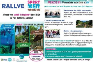 "Rallye ""Sport mer Territoire"" édition 2017"