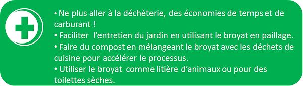 utiliser les déchets verts