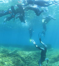 snorkeling mugel