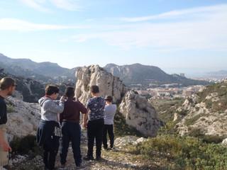 Sac à Dos Paysages: les jeunes de l'ITEP posent leurs regards sur le quartier de la Cayolle