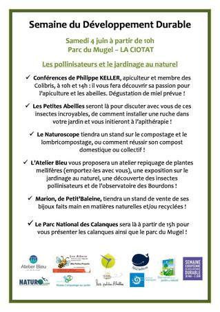 Samedi 4 juin au Mugel : jardinage au naturel et pollinisateurs