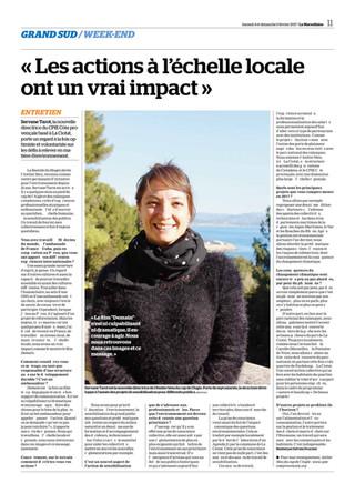 L'Atelier Bleu - CPIE Côte Provençale à l'honneur dans un article de La Marseillaise