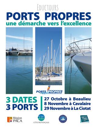 Fin des premiers Eductours Ports Propres !