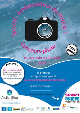 """Lancement du concours-photo """"SPORTIF : AMBASSADEUR DU LITTORAL ?"""""""