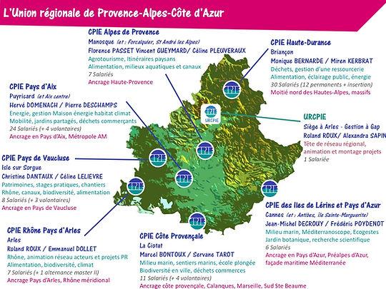 union régionale CPIE PACA