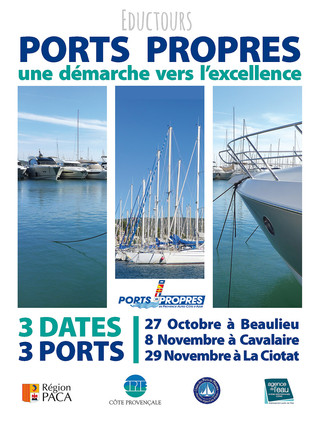 """Retour sur le 2ème Eductour """"Ports Propres, pour une gestion environnementale portuaire d'e"""