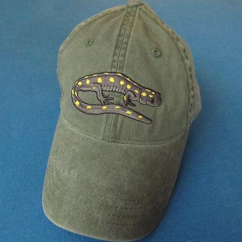 Spotted salamander hat