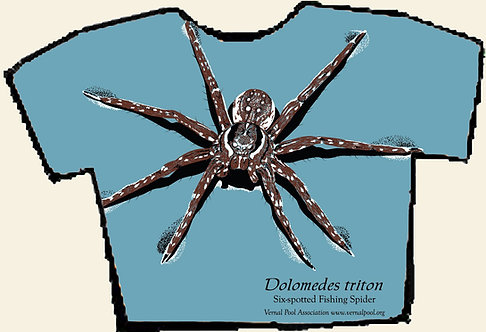 Fishing spider t-shirt