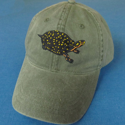 Spotted turtle hat